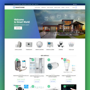 SMART HOME Dropshipping Website   Turnkey Ecommerce Business For Sale
