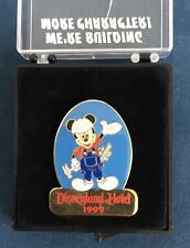Vintage 1999 Disneyland Hotel Pin Mickey Mouse We're Building More Character