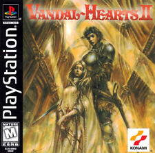 Vandal Hearts 2 PS1 Great Condition Fast Shipping