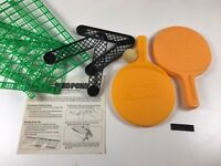 1982 Nerf Ping Pong Game Vintage Official Parker Brothers Missing One Ball W Box