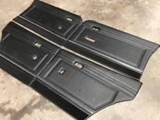 FORD XA XB GT BLACK SEDAN DOOR TRIMS SET EXCHANGE!! SUIT ELECTRIC WINDOWS
