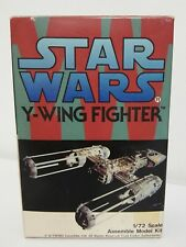 1/72 ARGONAUTS Y-WING FIGHTER Vinyl Resin & Metal Model Kit Star Wars Argo Nauts
