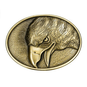 Brass Buckle, Eagle, White-Tailed, Eagle, Belt Buckle