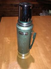 VTG Stanley Aladdin Green A-944DH Thermos Vacuum Bottle 1 Quart Stainless Steel