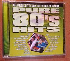 ☀️ Pure 80's Hits USA Promo Music CD Asia Berlin INXS Duran Duran Springfield