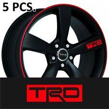 5pcs+1 gift Sticker Toyota TRD #2 Door Handle Wheel Tacoma Tundra