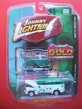 JOHNNY LIGHTNING CLASSIC GOLD COLLECTION HAPPY ST. PATRICKS DAY '50 CHEVY SUBURB