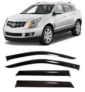 For Cadillac SRX II 2010-2016 Window Visors Side Sun Rain Guard Vent Deflectors