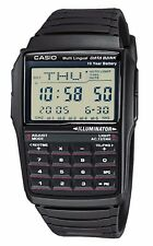 Casio DBC32-1A Men's Watch Multi Languaje Calculator DataBank 10 Year Battery!