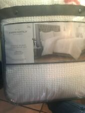 Threshold White Waffle Weave Comforter Set Full/Queen