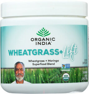 Organic Support Wheat Grass Lift 5.29 Oz