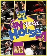 THE BEST OF IN YOUR HOUSE WWE 3-DISC SET DVD Wrestling