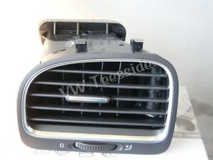 Genuine VW MK6 Golf Cabriolet Left Hand Air Vent  Black Chrome 5K0819703K NEW UK