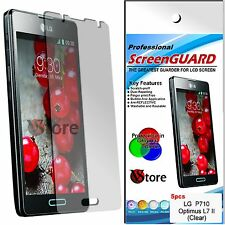 5 Film For LG Optimus L7 II 2 P710 Protector Save Screen Display Films