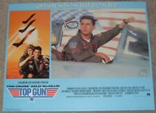Top Gun poster Tom Cruise poster  - lobby card poster print #1 - 11 x 14 inches