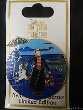 RARE DSF Disney MARY POPPINS BELOVED TALES Penguin Umbrella & Bag  LE 300 Pin