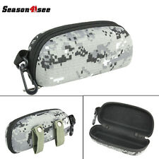 Airsoft Portable EVA Goggle Sunglasses Box For Outdoor Sports Camouflage Grey