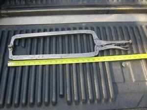 Irwin Vise-Grip 24 SP locking deep throat c-clamp welding pliers