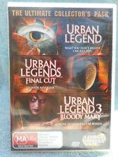 URBAN LEGEND/URBAN LEGEND FINAL CUT/URBAN LEGEND (3 DISC BOXSET)  MA R4