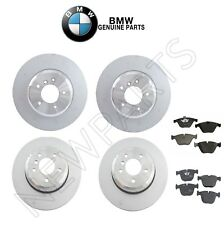 For BMW E63 E64 645Ci 650i Front & Rear Disc Brake Rotors & Pads Genuine KIT