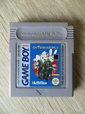 jeu game boy ghosbusters 2,space invaders,game et watch gallery,en loose