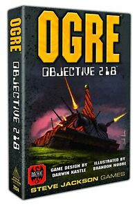 Ogre Objective 218 Board Game SEALED UNOPENED FREE SHIPPING