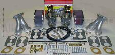 Weber Carburetor Kit VW Bug & Type 1 Dual 44 IDF - Redline Kit w/ Genuine Webers
