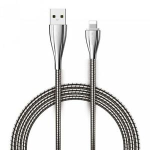 For iPHONE iPAD iPOD - METAL USB CABLE 6FT LONG FAST CHARGE POWER CORD SYNC WIRE