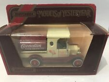 MATCHBOX YESTERYEAR Y-3 1912 FORD T TANKER CARNATION