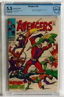 The Avengers #55 CBCS 5.5 1968 John Buscema 1st Full Appearance of Ultron 5