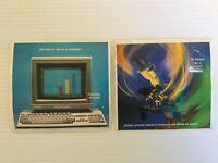 Lote 2 cromos Grandes Inventos Danone 1992