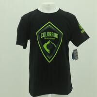 888697c31f9 adidas Colorado Rapids Girls Youth Heathered Charcoal Target Forward ...