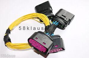VW Passat 3C B6 R36 Variant Bi Xenon Scheinwerfer Adapter Kabel Set cable set