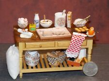 Dollhouse Miniature Kitchen Bake Table Reutter Porcelain 1:12 P27 Dollys Gallery