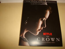 THE CROWN Season 1 Emmy Award 4 DVD's, Claire Foy as Queen Elizabeth, Matt Smith