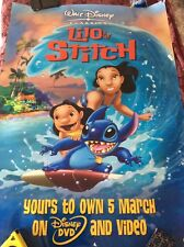 Lilo & Stitch Poster (2 Stapled Back To Back)