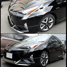 SUS304  Stainless Steel Headlight Lamp Trim for Toyota Prius XW50 2016-2018