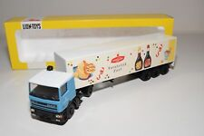 ± LION CAR DAF 95 TRUCK WITH TRAILER SUIKERUNIE VAN GILSE NEAR MINT BOXED