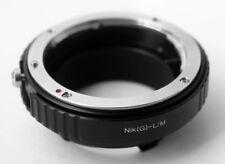 Kenro Nik(G)-L/M Mount Adapter Ring for Nikon G Lens to Leica M Camera