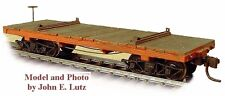 HOn3 WISEMAN MODEL SERVICES SIMPSON RS445 WEST SIDE LUMBER LOGGING FLAT CAR KIT