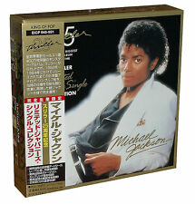 "MICHAEL JACKSON  ""Thriller-Single Collection"" Japan Mini LP 7 Single-CD Box"