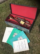 Boosey & Hawkes Trumpet.Serial No496574.LAC With Fittings Regent