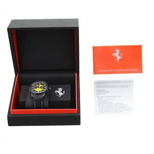 Ferrari Ronda 5020B Watch Granturismo Chrono Stainless Steel FE11IPBCPYW