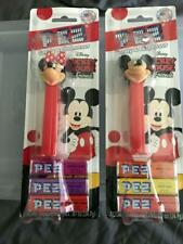 Mickey Mouse and Minnie Mouse PEZ Dispensers