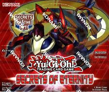 YUGIOH SECRETS OF ETERNITY 1ST EDITION BOOSTER BOX BLOWOUT CARDS