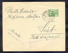 9988 Latvia,1939,Cover as local post in Vecmilgravis with rare slogan