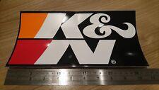 Large K&N New genuine Sticker Decal Graphic Air Filter Car Bike Truck