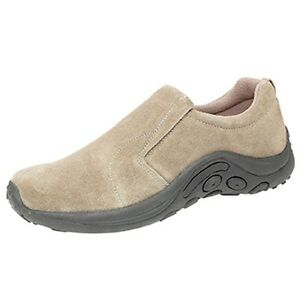 Mens Ladies Unisex PDQ Jungle Moc Slip-On Casual Taupe Suede Shoes UK7 to UK14