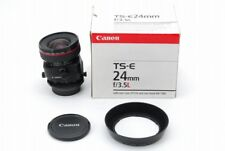 Top Mint in box Canon TS-E 24mm f3.5 L Tilt-Shift Lens Free shipping from Japan