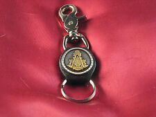 """Handcrafted Key Chain To Match Our Vest Extenders """"Masonic Past Master"""""""